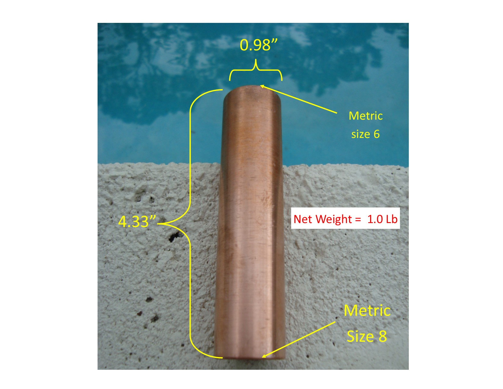 Hilltop Solar Copper Anode Fits Many Brands