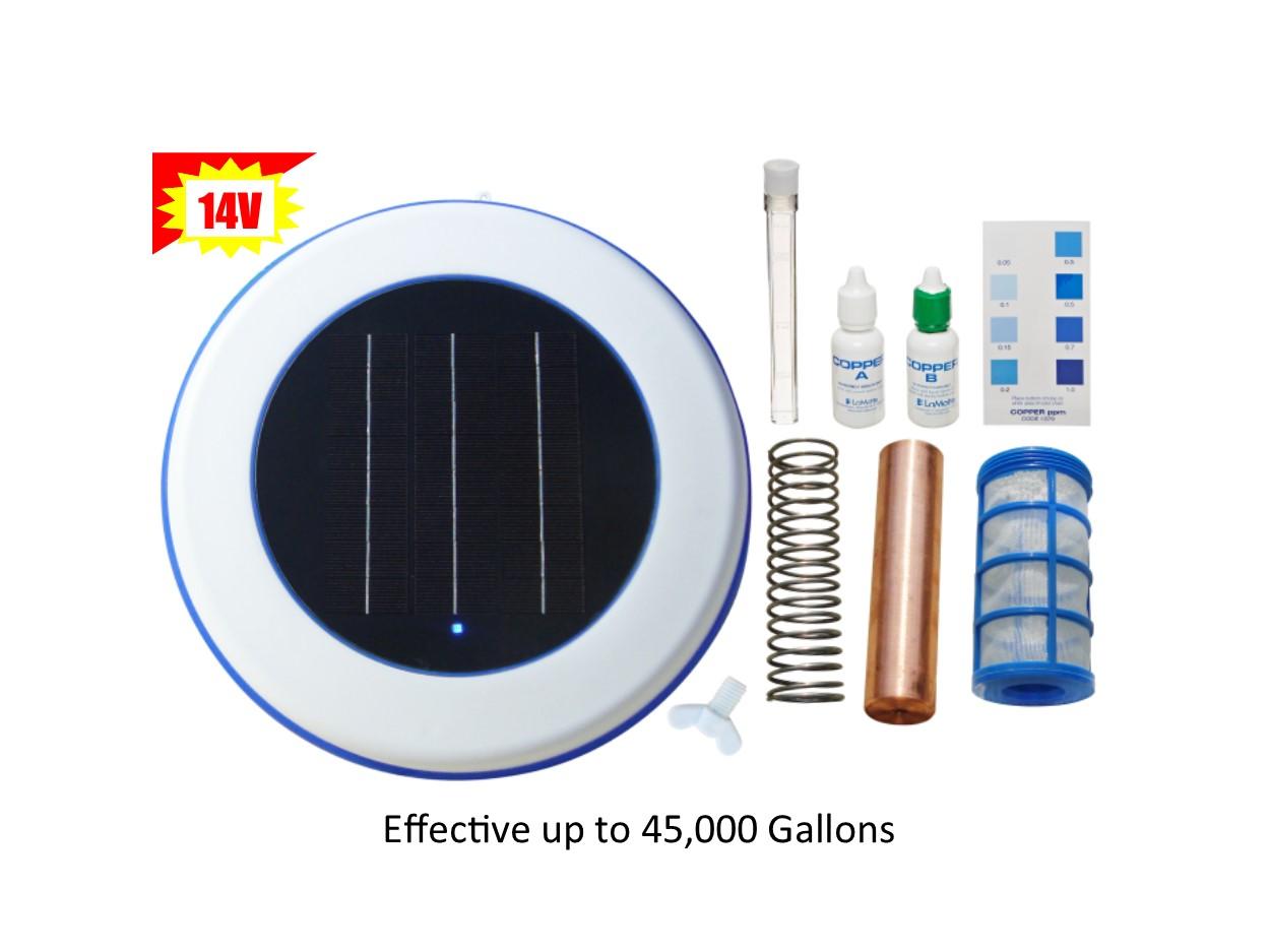 Hilltop Solar Solar Pool Ionizer 14 0 Volts